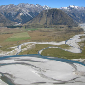 Fly Fishing Twizel Back Country New Zealand