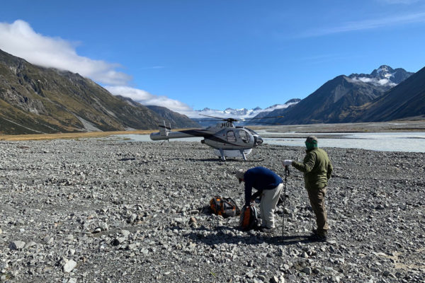 Heli Fly Fishing With Glendeer Guides