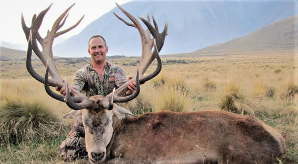 New Zealand Red Stag Trophy Hunting Alpine Country